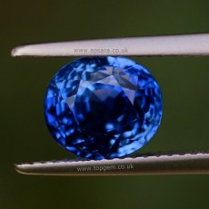 Untreated Blue Sapphire #1015731